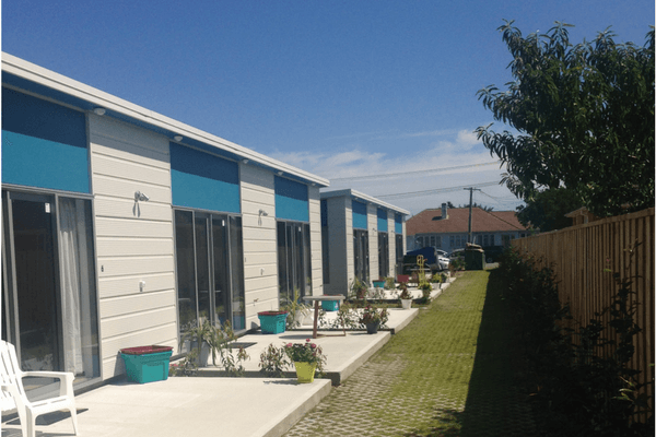 From one dwelling to eight; community collaboration creates more homes in Masterton