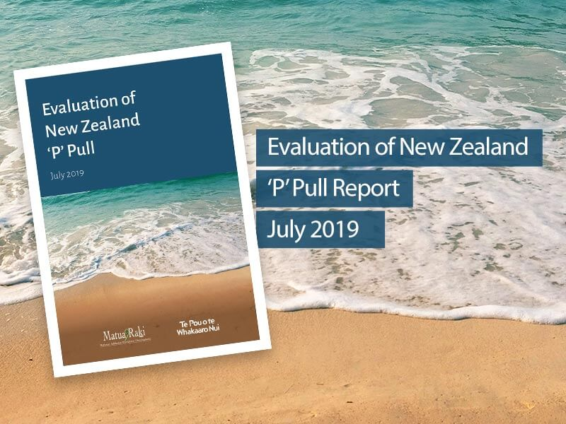 Matua Raki report outlines community-based initiative to reducing the impact of Methamphetamine use.