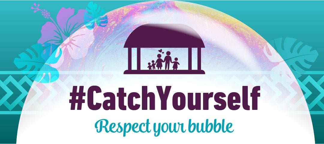 COVID-19: Trouble in your bubble? #CatchYourself