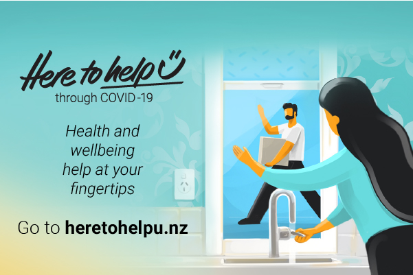 'Here to help u' community support during COVID-19 launches