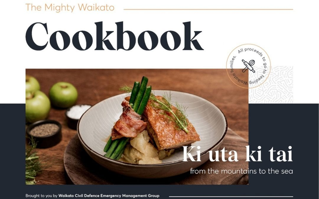 A celebration of food and community: The Mighty Waikato Cookbook